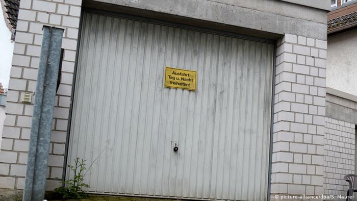 What is allowed in German garages?